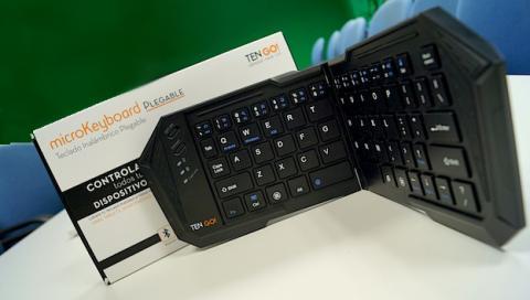 microKeyboard Plegable, el teclado bluetooth más útil de TenGo!
