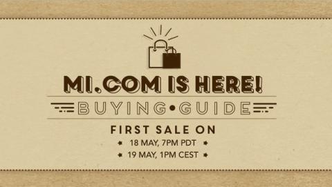 Xiaomi lanza su tienda online en Europa el 19 de mayo