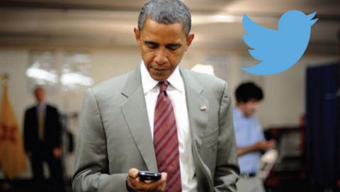 Barak Obama estrena su propia cuenta personal en Twitter