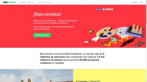 La web de crowdfunding KickStarter llega a España, ya acepta proyectos en español.