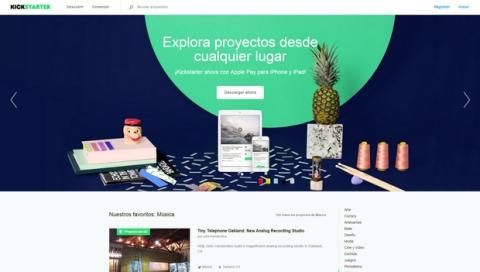KickStarter ya en español con proyectos españoles