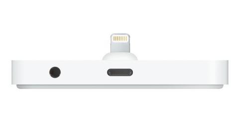 Apple estrena en España la base dock Lightning para cargar el iPhone.