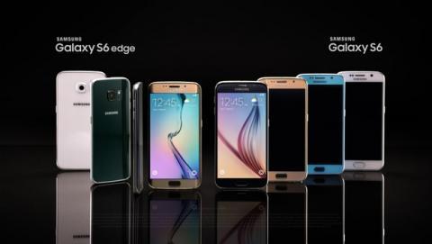 Samsung Galaxy S6 vende 10 millones de unidades en un mes.