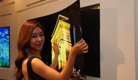 El prototipo de LG Display tiene un grosor espectacularmente reducido: menos de 1 mm