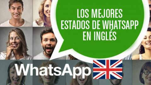 Estados de whatsapp en inglés