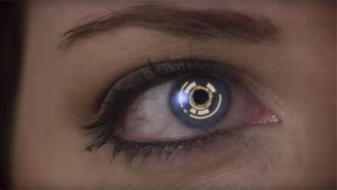 Unas gafas de realidad virtual que se controlan con los ojos