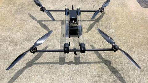 Hycopter Drone vuela 4 horas propulsado por hidrógeno