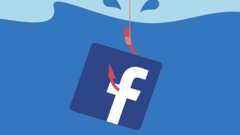 A través de Facebook se reciben numerosos ataques de phishing