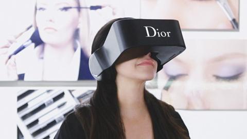 gafas dior realidad virtual