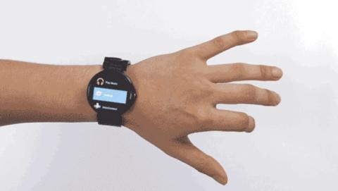 Aria, para controlar tu smartwatch con los gestos de la mano