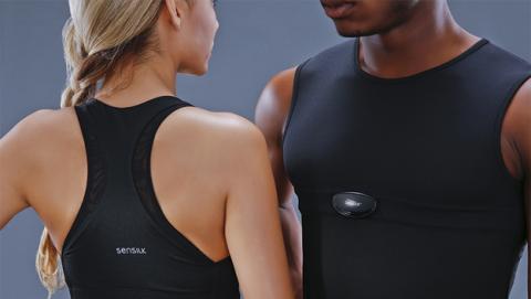 Un sujetador inteligente para medir tu actividad deportiva