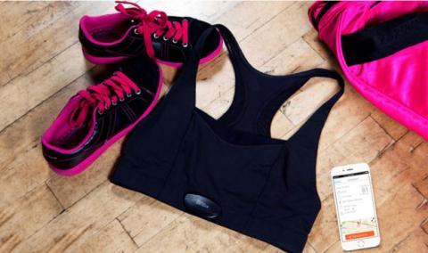 El sujetador inteligente te permite prescindir de otros dispositivos wearables para hacer ejercicio más cómoda.