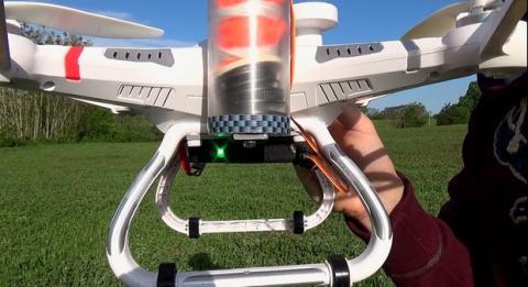 Paracaídas para drone