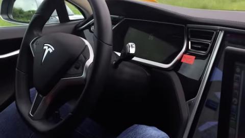 Así funciona el coche autónomo Tesla Model S con Ubuntu