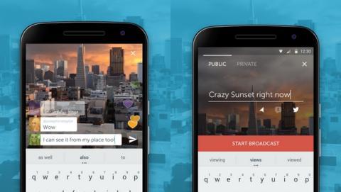 Ya puedes descargar Periscope para Android, el servicio de streaming de Twitter.