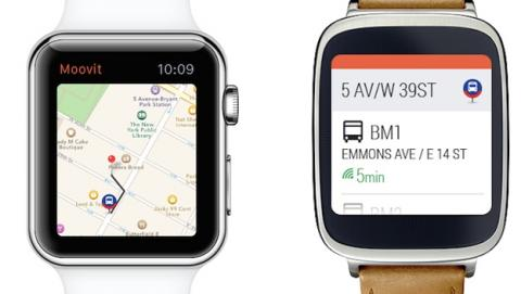 apple watch moovit