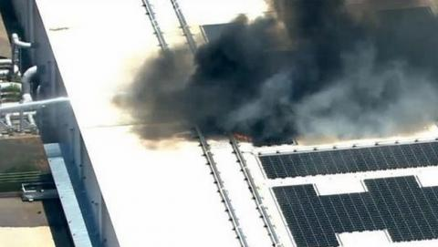 Un incendio asola el centro de datos de Apple en Arizona.