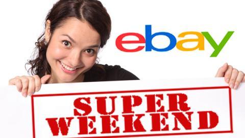 ¡Llega el SuperWeekend de eBay!