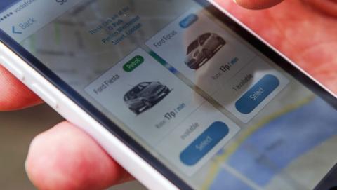 Nuevo servicio de coche compartido de Ford en UK