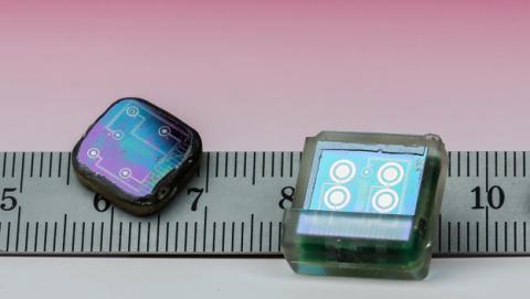 Un chip implantable para ver los datos médicos en el móvil