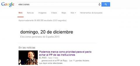 elecciones generales google