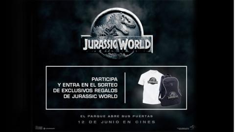 ¡Gana un lote de productos de Jurassic World!