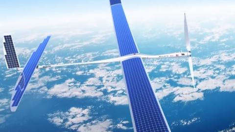 Se estrella un drone Solara de 50 metros de Google.