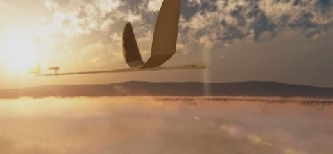 Drone Solara 50 de Google se estrella