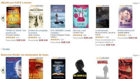 Segundo Concurso Literario de Autores Indies de Amazon.
