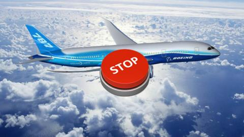 error software boeing 787