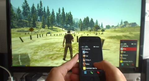 Hack de GTA V iPhone