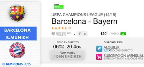 Barsa Bayern en YOMVI