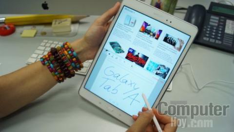 Opción multitarea Samsung Galaxy Tab A