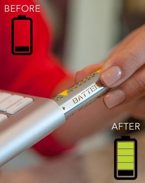 Batteriser alarga la duración de las pilas
