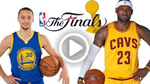 Ver online y en directo final de la NBA entre Golden State Warriors y Cleveland Cavaliers