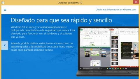 Cómo ocultar el icono de Windows 10 en Windows 7 y 8.