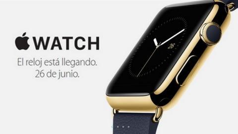 Apple Watch a la venta en España el 26 de junio.