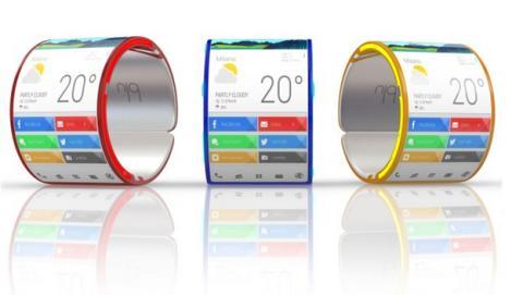 Blu móvil flexible que podrás usar como smartwatch