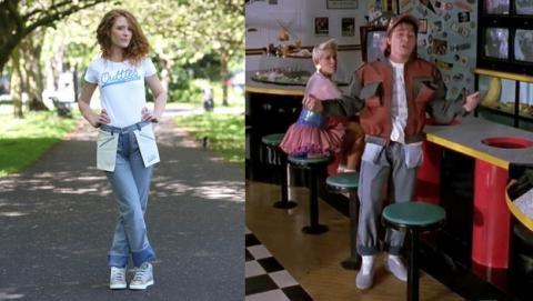 Los pantalones del revés de Regreso al Futuro II, a la venta.