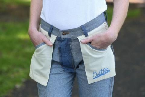 Pantalones revés Regreso al Futuro