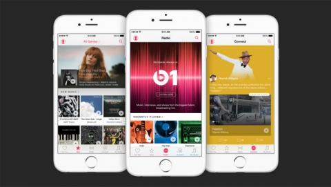 Ya está aquí Apple Music, la plataforma de streaming rival de Spotify.