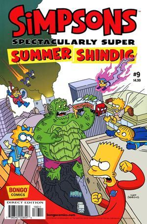 Paella Man, nuevo superhéroe español de Los Simpson