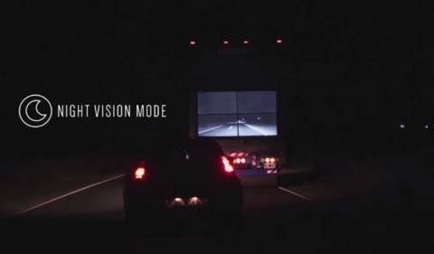 Camiones con pantallas de Samsung