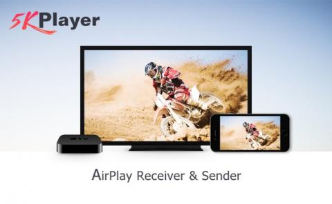 5KPlayer con AirPlay