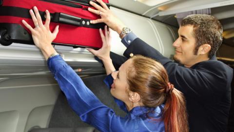aerolíneas reducirán 40% tamaño equipaje de mano