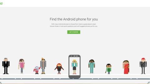 Google crea una guía interactiva para ayudarte a elegir tu smartphone Android.