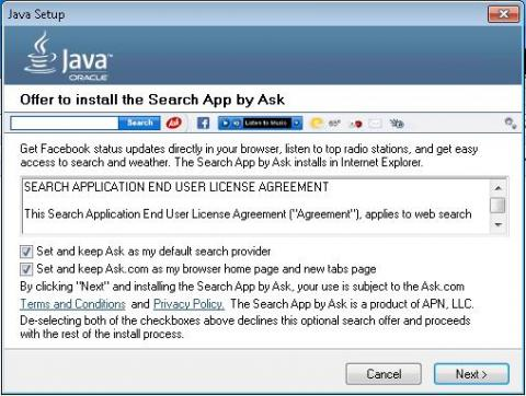 Ask Toolbar se instala sin que te des cuenta y produce muchos quebraderos de cabeza.