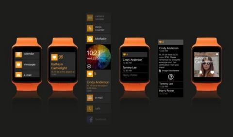 Smartwatch Moonraker de Microsoft