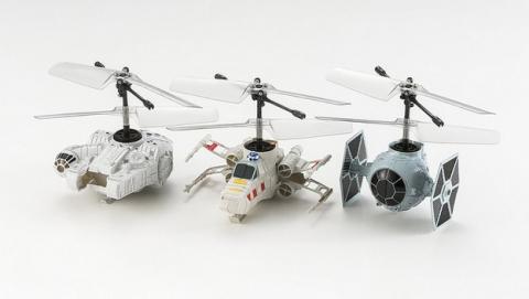 Ya están aquí los drones oficiales de Star Wars de Bandai CCP Pico.