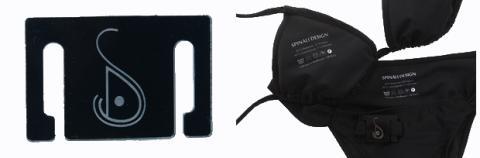 Bikini inteligente con sensor UV